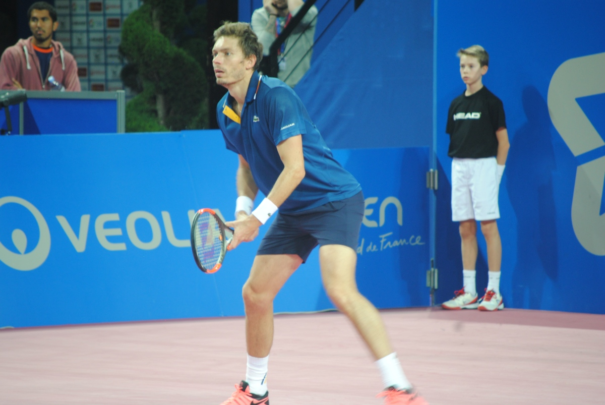 Open Sud de France : Qualification de Nicolas Mahut après l'abandon de DustinBrown
