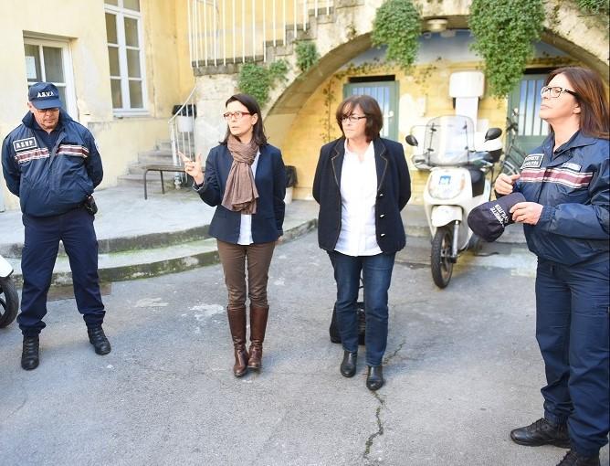 La ville de Montpellier lance la nouvelle brigade de lapropreté
