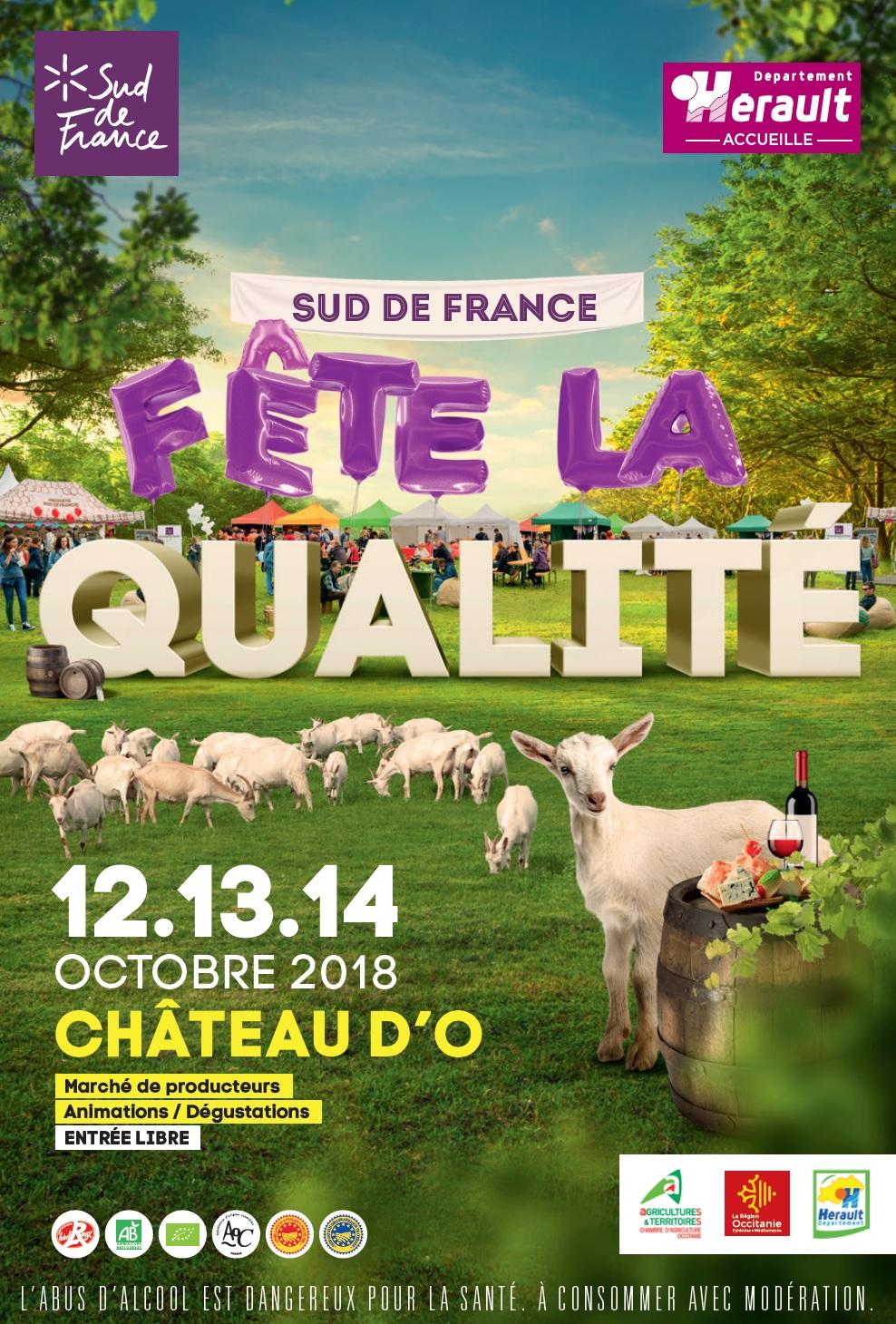 Sud de France fête la qualité au Châteaud'O