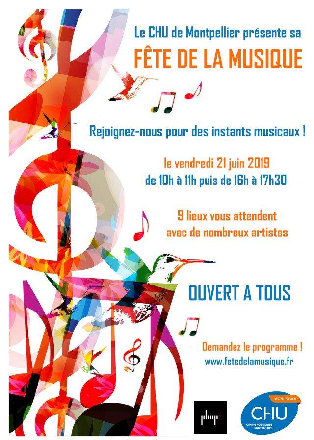 Fête de la musique : Le programme du CHU deMontpellier