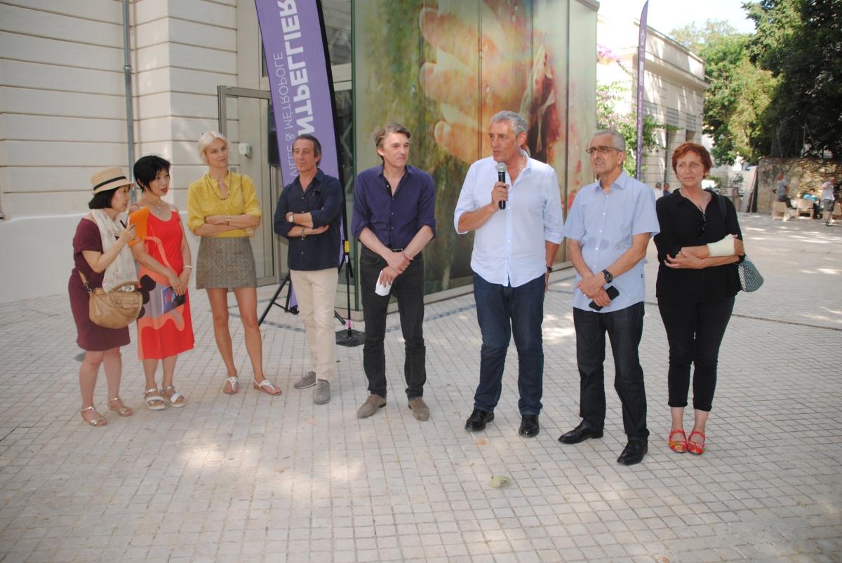 Retour en images : Visite  inaugurale duMOCO