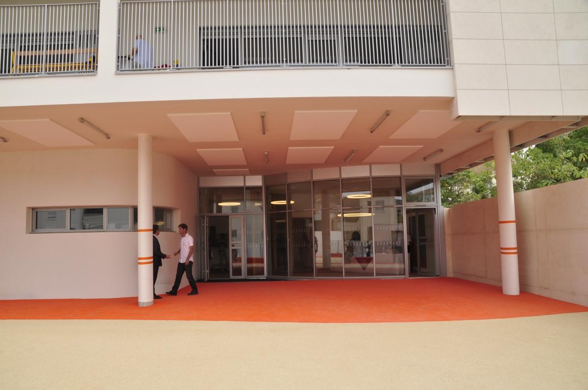 images de l'extension de l'école Marie PapeCarpantier.