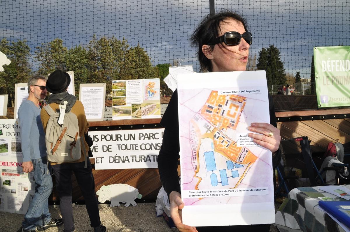rassemblement citoyen au ParcMontcalm.