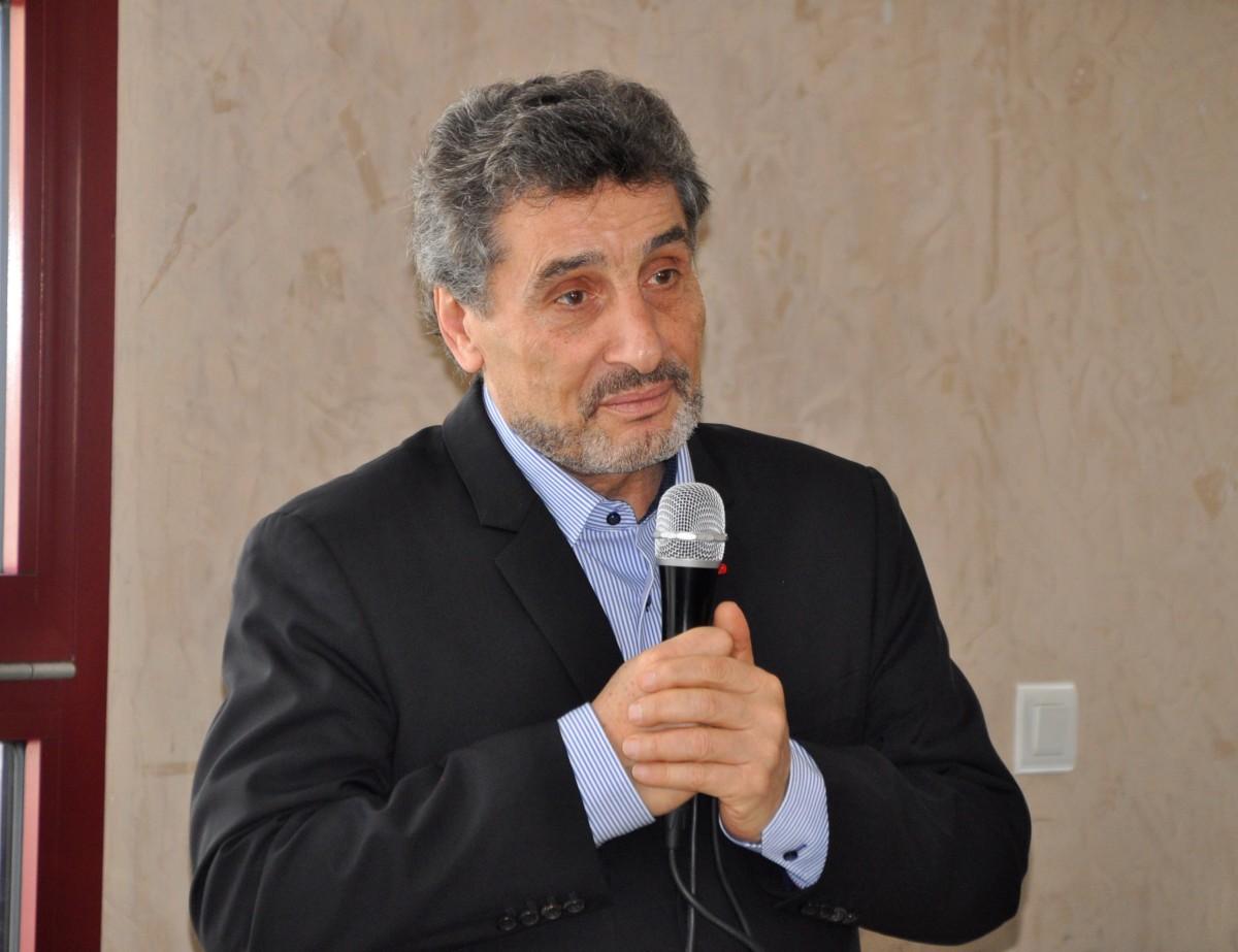 Mosson : Meeting de Mohed Altrad à la PerleNoire